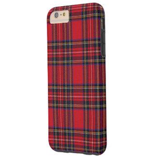 Tartán real de Stewart Funda De iPhone 6 Plus Tough