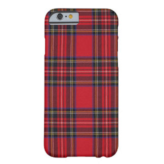 Tartán real de Stewart Funda Barely There iPhone 6
