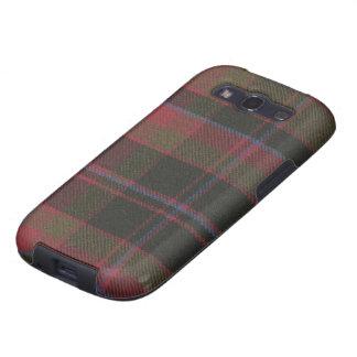 Tartán resistido clan de la galaxia S3 Buchan de S Samsung Galaxy S3 Funda