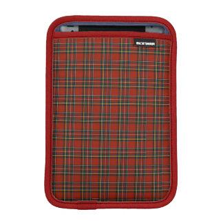 Tartán rojo, azul, y verde de Stewart real Fundas Para iPad Mini