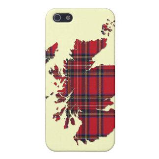 Tartan Scotland Map iPhone Case