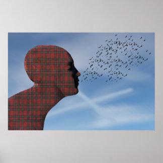 Tartan Scottish Independence 2014 Poster