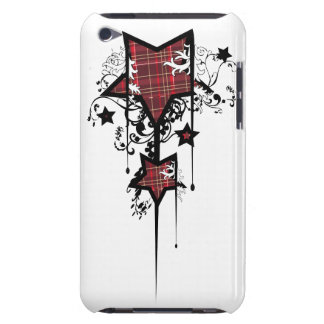 Tartan stars barely there iPod cover