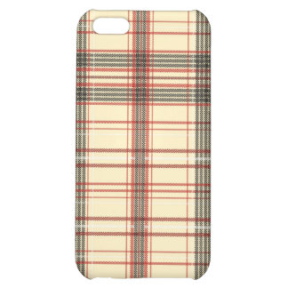 Tartan Texture Case For iPhone 5C