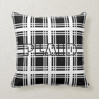 Tartan (White) Pillow
