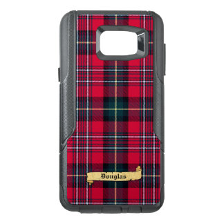 Tartan with Your Name on it OtterBox Samsung Note 5 Case