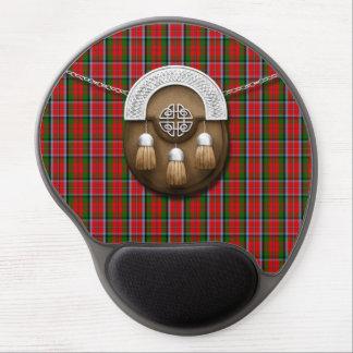Tartán y escarcela de los montañeses de Escocia de Alfombrilla Gel