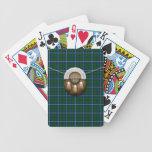 Tartán y escarcela de los montañeses de Escocia de Baraja Cartas De Poker