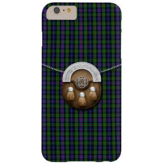 Tartán y escarcela de los montañeses de Escocia de Funda De iPhone 6 Plus Barely There