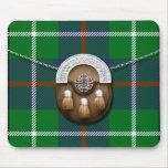 Tartán y escarcela de los montañeses de Escocia de Tapete De Raton
