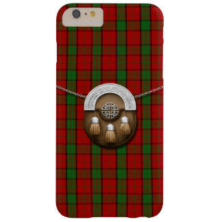 Tartán y escarcela de los montañeses de Escocia Funda De iPhone 6 Plus Barely There