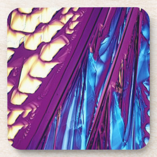 Tartaric Acid Crystals Coaster
