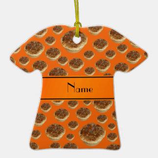 Tartas anaranjadas conocidas personalizadas de la  ornamentos de reyes magos