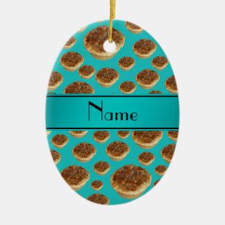 Tartas conocidas personalizadas de la mantequilla  ornamento para reyes magos