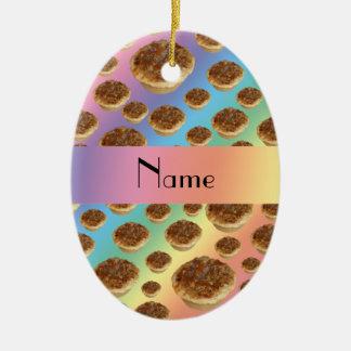 Tartas conocidas personalizadas de la mantequilla  ornamente de reyes