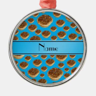 Tartas conocidas personalizadas de la mantequilla  ornamento de reyes magos