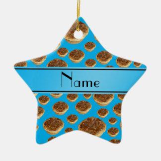 Tartas conocidas personalizadas de la mantequilla  ornamento para arbol de navidad