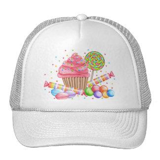 Tartas del dulce del Lollipop del caramelo de la m Gorros