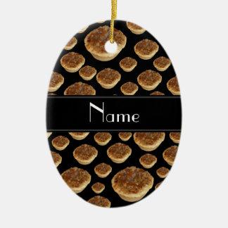 Tartas negras conocidas personalizadas de la mante ornamentos de reyes magos