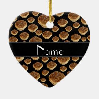 Tartas negras conocidas personalizadas de la mante ornatos