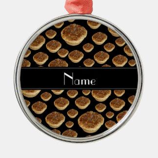 Tartas negras conocidas personalizadas de la mante ornato