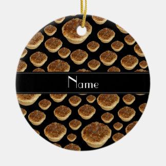 Tartas negras conocidas personalizadas de la mante adorno