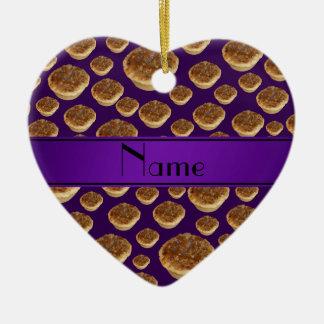 Tartas púrpuras conocidas personalizadas de la man ornatos