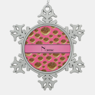 Tartas rosadas conocidas personalizadas de la mant adorno