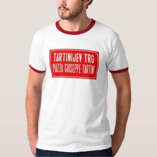 Tartini Square, Street Sign, Piran, Slovenia T-Shirt