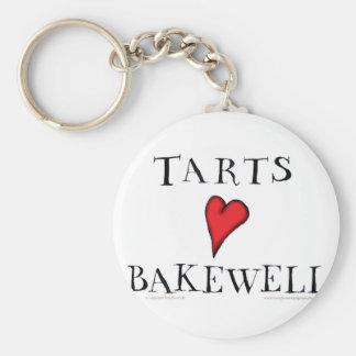 Tarts Love Bakewell, tony fernandes Keychain