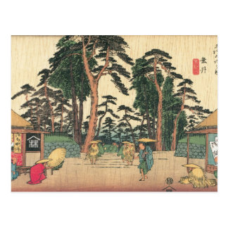 Tarui, Japón C. 1800's Tarjeta Postal