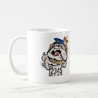 TAS Police Angry Dog Coffee Mug