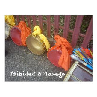 Tasas, Trinidad y Trinidad y Tobago Postales