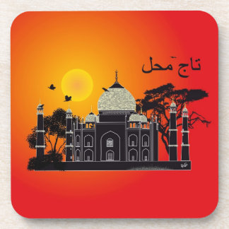 Tasch Mahal India cork reductor 1 Drink Coaster