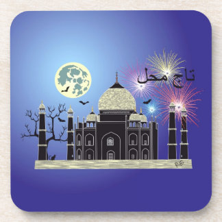 Tasch Mahal India cork reductor 2 Beverage Coaster