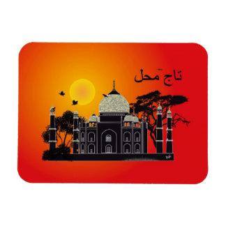 Tasch Mahal India Premium Flexi imán 1