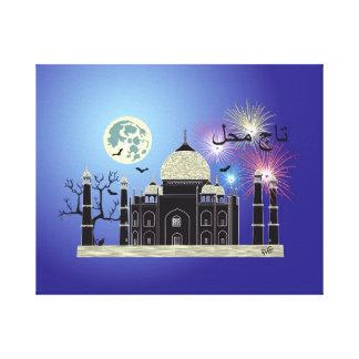 Tasch Mahal India presión en lienzo de cuña 2 Lienzo Envuelto Para Galerías