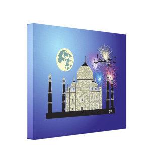 Tasch Mahal India presión en lienzo de cuña 3 Impresión En Lona Estirada