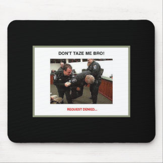 taser grey borderphixr mouse pad