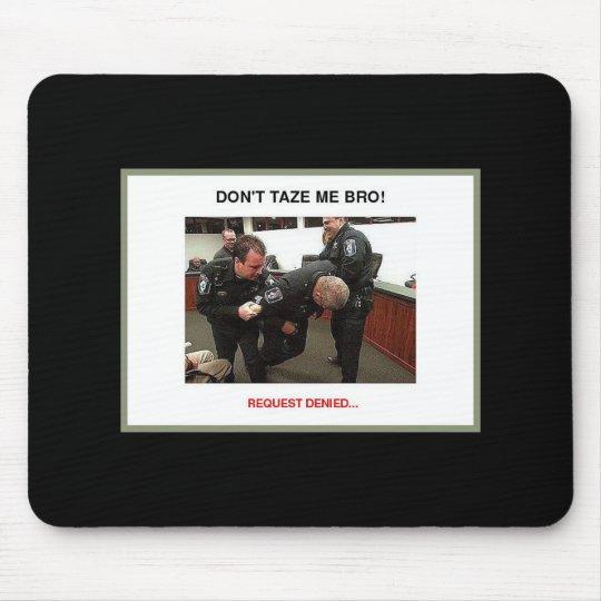 taser grey borderphixr mouse pad