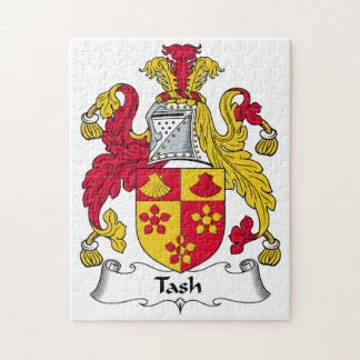 Tash Family Crest Jigsaw Puzzles