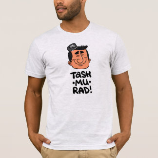 Tash-mu-rad! American Apparel t-shirt ash grey.