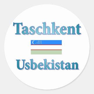 Tashkent Classic Round Sticker