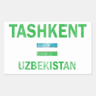 Tashkent Uzbekistan Designs Rectangular Sticker