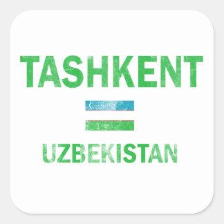 Tashkent Uzbekistan Designs Square Sticker