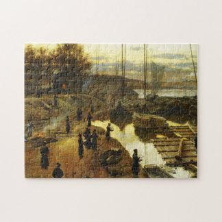 Tashlikh - pintura de Alexander Gierymski - 1884 Puzzle