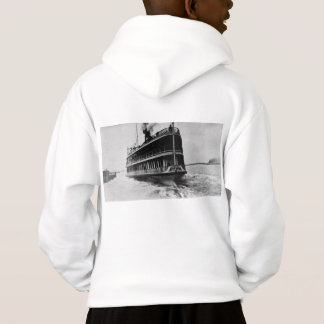 Tashmoo from Detroit Vintage Great Lakes Ship Hoodie