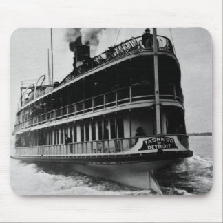 Tashmoo from Detroit - Vintage Stern Shot Mouse Pad