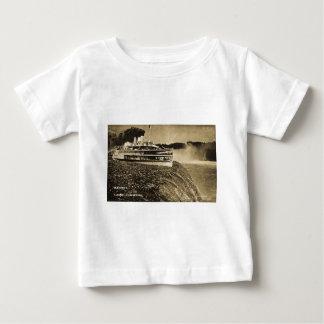 Tashmoo Over Niagra Falls Vintage Trick Photo Baby T-Shirt