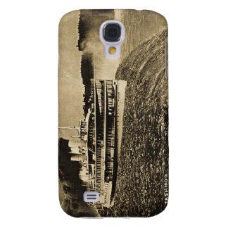 Tashmoo Over Niagra Falls Vintage Trick Photo Galaxy S4 Cases